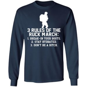3 Rules Of The Ruck March Shirt