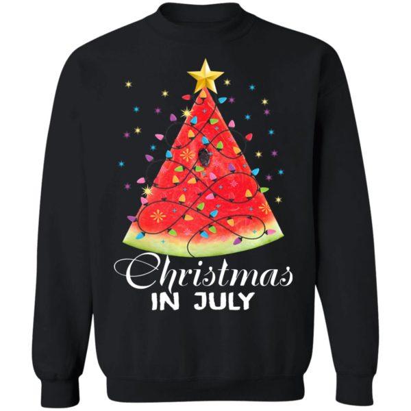 Watermelon Christmas Tree – Christmas In July Shirt