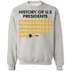 History of U.S Presidents 46th Cool President Shirt