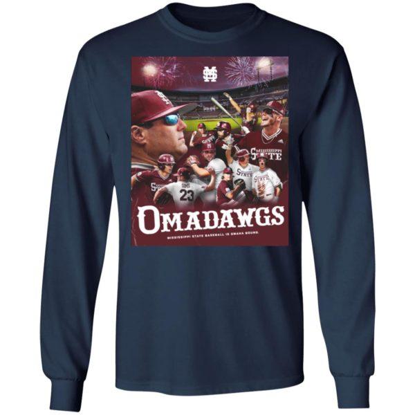 Mississippi State Baseball Is Omaha Bound National Championships 2021 Shirt