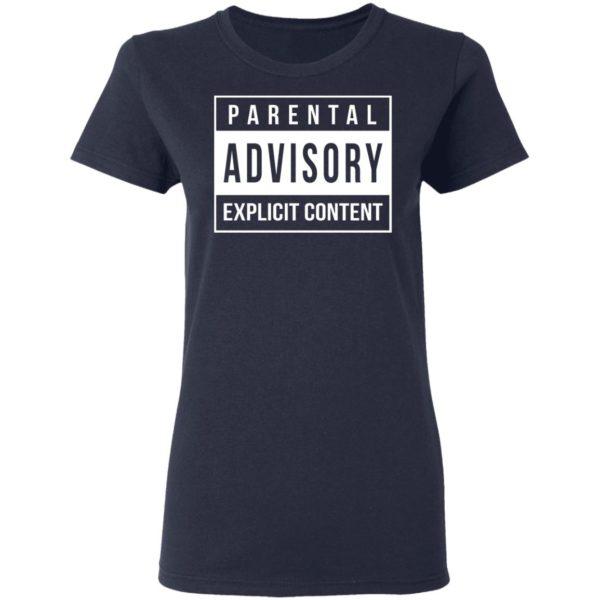 Parental Advisory Explicit Content Shirt